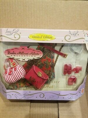 """BARBIE MILLICENT ROBERTS /""""RED HOT/"""" FINAL TOUCHES ACCESSORY SET NRFB"""