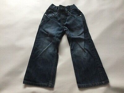 Boys Genuine Next Blue Jeans Size Age 4-5 Years Old Vgc