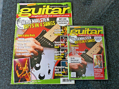 Guitar Zeitschrift Songbook mit DVD: school of rock