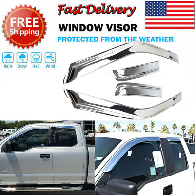 For 2009-2014 FORD F150 F-150 ABS Chrome Trim Bezel Tail Light Lamp Covers