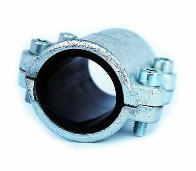 """1/2"""" BSP Malleable Pipe Repair Clamp Fittings for Steel Pipes Leak Fix 1/2"""""""