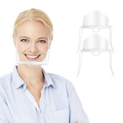 6 PCS Face Mouth Protection, Anti-Fog and Anti Splash Catering Protective Vis...
