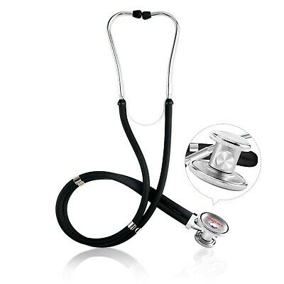 Sinocare Premium Dual Head Stethoscope Kit Classic Double-Tube Double-Sided H...