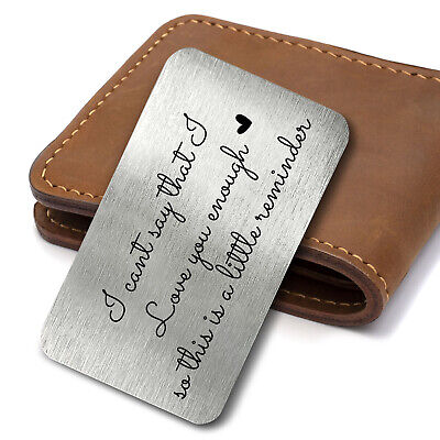 KEEPSAKE WALLET CARD ONE DAY AT A TIME Sentimental Inspirational Hope Strength