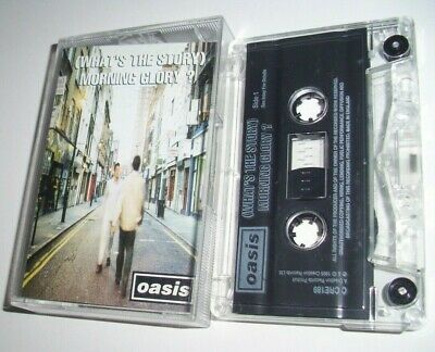 Oasis What's The Story Morning Glory? Cassette Tape 1995 Creation C Cre189 Uk