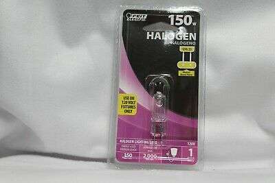 Feit Electric 150W Halogen 120V GY6.35 Bulb 150 Watt GY 6.35 120 Volt Light