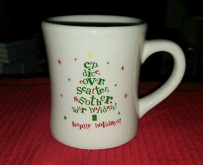 2012 Waffle House Coffee The Big Mug/Cup By Tuxton Holiday/Christmas Large Thick