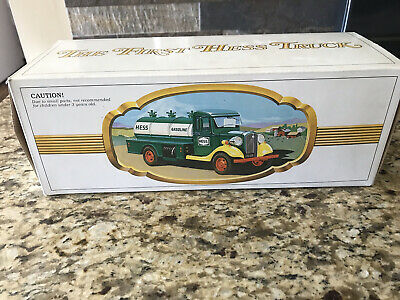 1980's Hess Truck The First Hess Truck w/ Working Lights - New in Original Box.