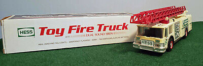1989 HESS TOY FIRE TRUCK – In Box - Used – Very Good Condition