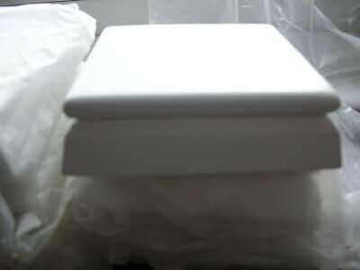 """Stair Newel Post Caps  6 x WHITE 3"""" X 3"""" FENCE CAPS DECKING CAPS"""