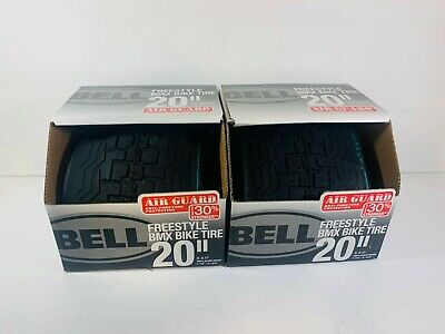 2x Bell 20 inch x 2.0 Freestyle BMX Bike Bicycle Tire NEW IN BOX Free Shipping