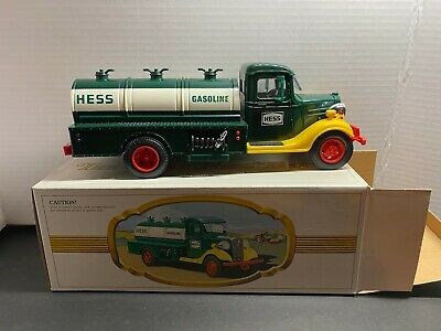"""1982 """"My First Hess Truck"""" Gasoline Tanker Toy in original box ***READ***"""