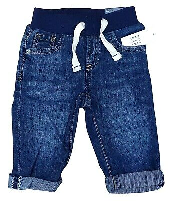 GAP Kids Boys Soft Slim Cotton Trousers Jeans Bottoms Age 4 Years MRRP £16.99