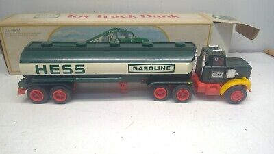1984 Hess Fuel Oil Tanker with Bank-Working Lights, Excellent Box (D20)