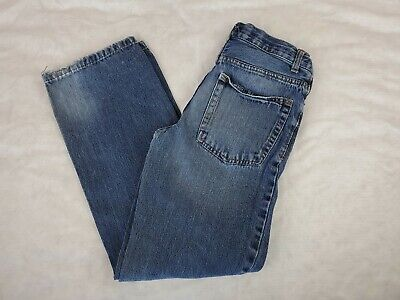 Cherokee Jeans Boys Size 14 Straight Fit Adjustable Waist Blue Denim