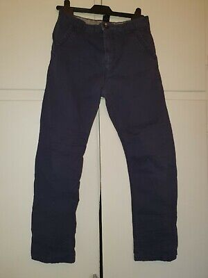 Boys Age 12 Next Navy Blue Shaped Slim Fit adjustable waist Jeans - Great Cond.