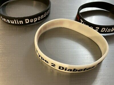 Medical Alert Bracelets Type 2 Diabetes Insulin Dependent