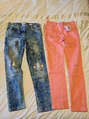 Next Girls Jeans Age 11 Years