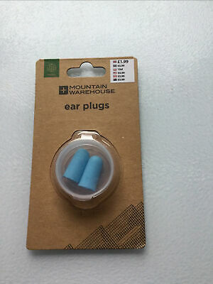 Mountain Warehouse Travel Ear Plugs New and boxed
