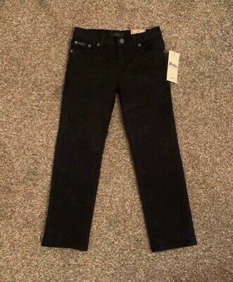 Boys Ralph Lauren Jeans, Age 5, Black, Brand New