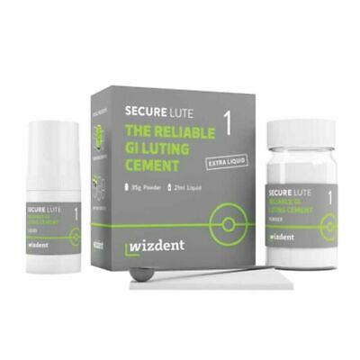 Wizdent Secure Lute 1 the Reliable Glass Ionomer Luting Cement