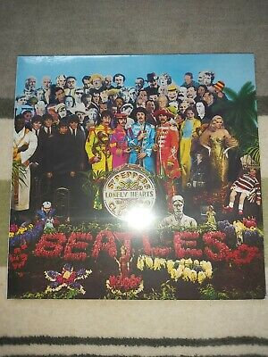 The Beatles Sgt Peppers lonely hearts club Vinyl, Deagostini collection Sealed A