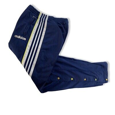 adidas Trainingshose Gr. D5 M Knopfhose Trackpants Jogginghose 90er adibreak A11