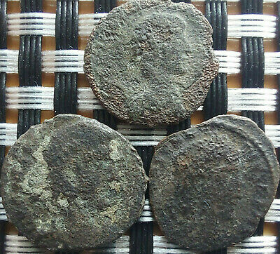 Lot Of 3 Ancient Roman Imperial Bronze Coins