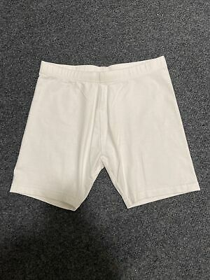 Girls White Shorts Age 10 Years From Next School