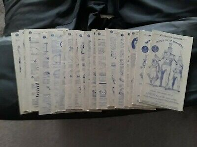 40-50s Nabisco Order of the Straight Arrow Books 1,2,3,4 Flying Circus Cards Top