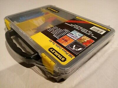 Stanley 700 Pc. Cable Tie Kit With Case & Cutting Tool Part#Ct-Kit700-S