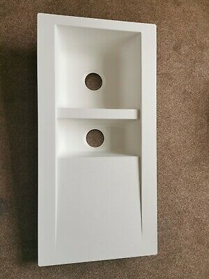 respekta Alineo built in Kitchen Sink,  White 100x50 cm. No part included