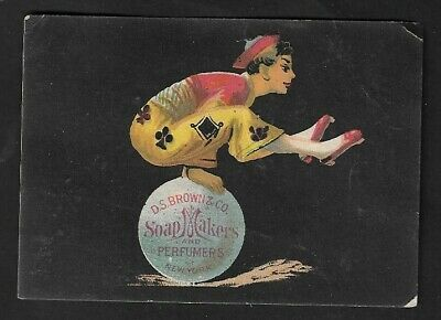 1880's David S. Brown & Co. Soap Makers & Perfumers Advertising Card