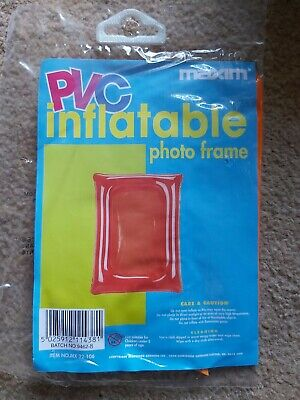 Novelty Inflatable PVC Photo Frame Pink colour