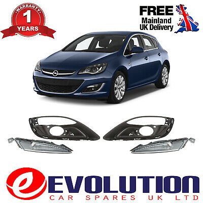 Right Left Front Bumper Fog Cover & Signal Lamp Cover, 1401022, 1226160, 1401021