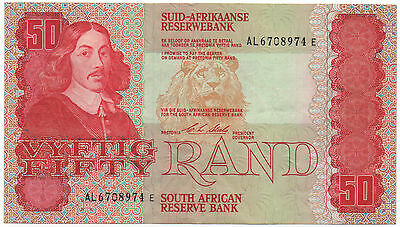 South Africa 50 Rand 1990 Pick 122 B Look Scans