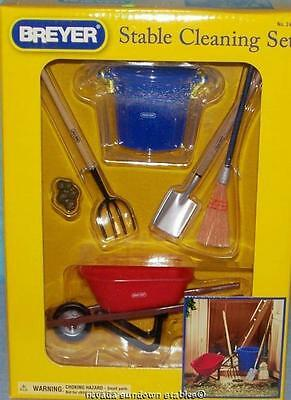 Breyer Collectable Horse Accessories Stable Cleaning Set