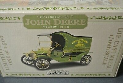GearBox Collectible John Deere delivery truck 1912 Ford Model T