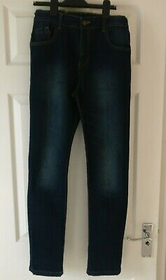 Boys F&F Jeans, Faded Dark Blue, Age 12-13 : Excellent condition only worn twice