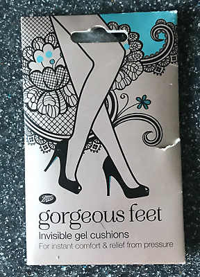 BN Boots Gorgeous Feet Invisible Gel Cushions