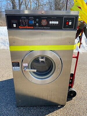 Speed Queen Front Load Washer 25 LB 1 PHASE M/N:SCMN2LU10001 S/N:0596082841