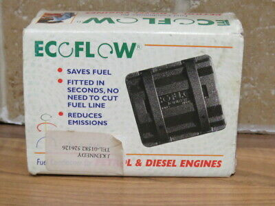 New Ecoflow fuel conditioner for petrol and diesel engines