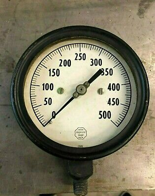 TWO Used Gauge Acco Gearcoid Gages MADE IN THE U.S.A 500 PSI