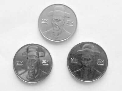 South Korea coins 100 Won  Circulated