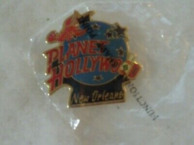 Planet Hollywood pin New Orleans Classic logo crawfish