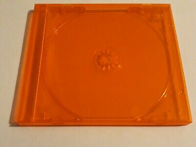 One Orange CD jewel case with tray