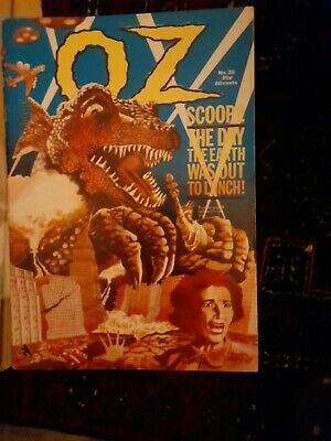 OZ MAGAZINE NO 38 The Day The World Was Out To Lunch