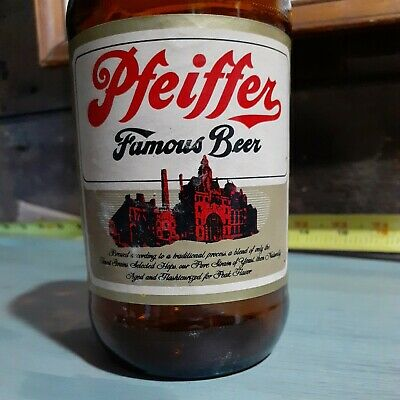 1948 Pfeiffer Famous Beer Bottle