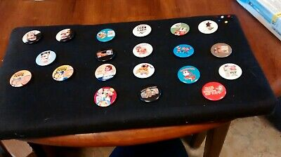 CEREAL ADV. BUTTONS-collectable--see pictures
