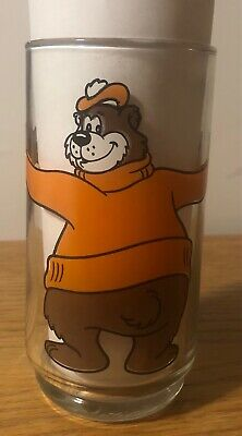 A&W Root Beer Family Restaurant - Yogi Bear - Root Beer Glass - 1970's